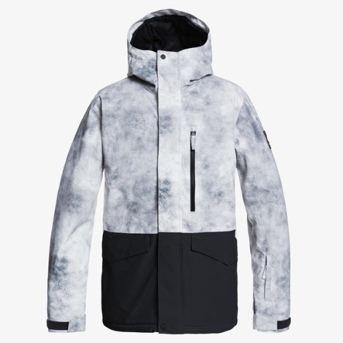 2021 QUIKSILVER MISSION PRINTED BLOCK JKT-KZM (퀵실버 미션 프린티드 블록 자켓)