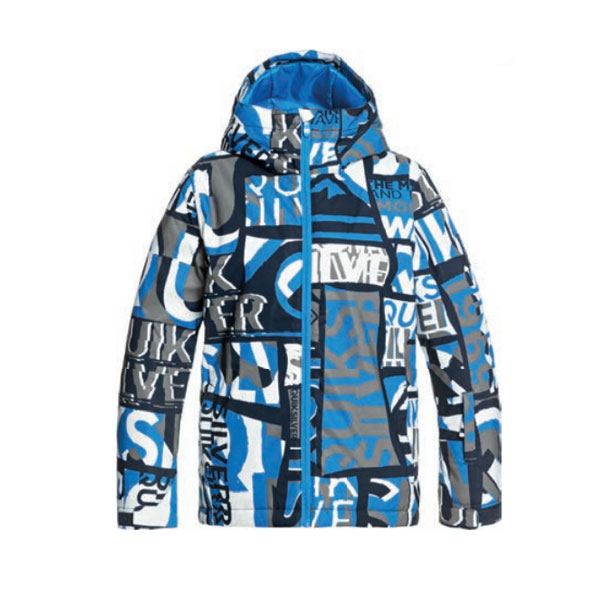 2021 QUIKSILVER MISSION PRINTED YOUTH JKT-BNL (퀵실버 미션 프린티드 유스 아동 자켓)