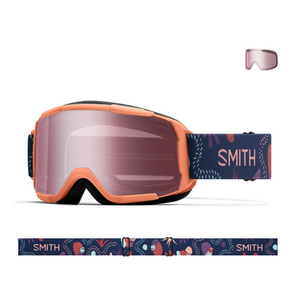 2021 SMITH DAREDEVIL SALMON BEDROCK-IGNITOR MIRROR (스미스 데어데블 아동고글)