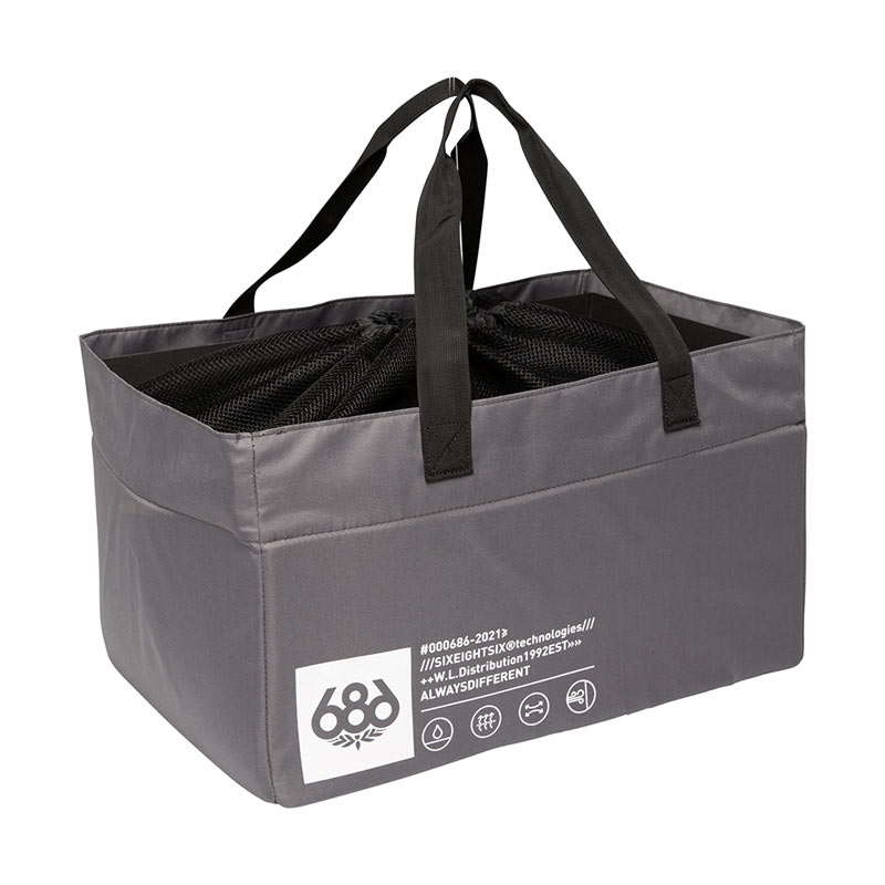 2021 686 STORAGE GEAR BAG-GREY (686 스토리지 가방)