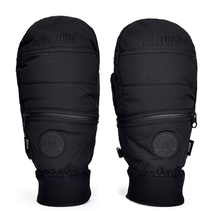 2021 DIMITO EASY ZIP MITTEN-BLACK (디미토 이지 집 미트)