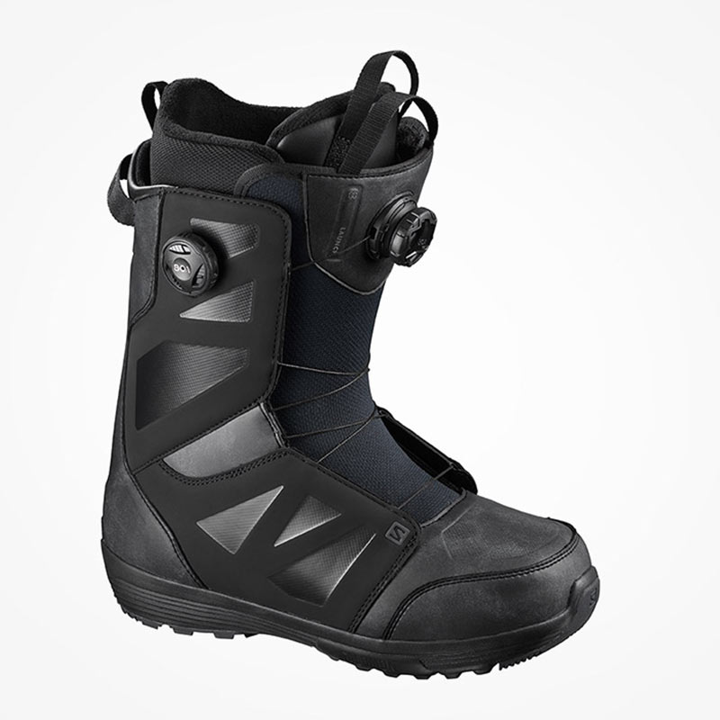 20/21 SALOMON LAUNCH BOA SJ BOA-BLACK (살로몬 런치 보아 부츠)