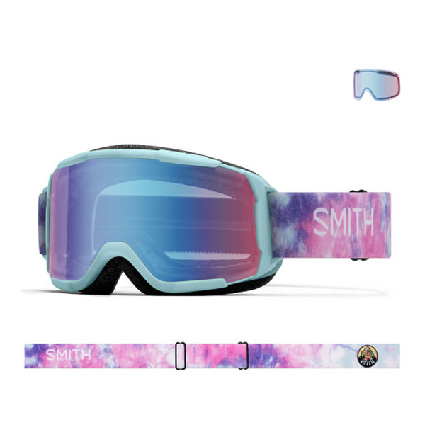 2021 SMITH DAREDEVIL POLAR TIE DYE-BLUE SENSOR MIRROR (스미스 데어데블 아동고글)