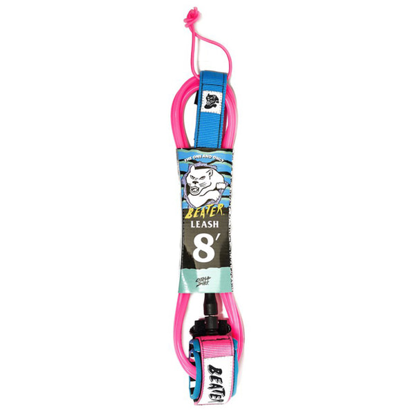 CATCH SURF/캐치서프 서핑리쉬 BEATER PRO COMP 8FT LEASH-PINK