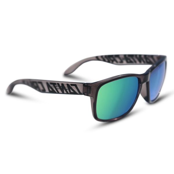 SANTA CRUZ/산타크루즈 선글라스 VIPER CLEAR GRAY/BLACK G2-GREEN IRIDIUM LTD EDITION POLARIZED/NO10