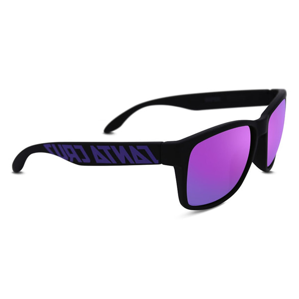SANTA CRUZ/산타크루즈 선글라스 VIPER MATT BLACK G4-PURPLE IRIDIUM POLARIZED/NO11